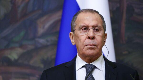 Minister spraw zagranicznych Siergiej Ławrow. - Sputnik Polska