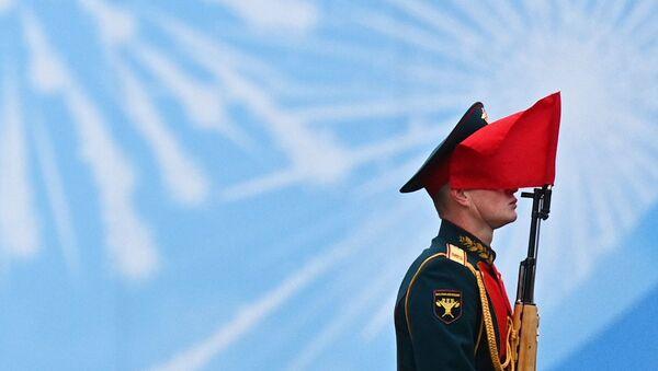 Parada Zwycięstwa 2021 na Placu Czerwonym w Moskwie - Sputnik Polska