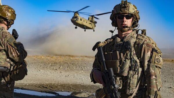 Wojsko USA w południowo-wschodnim Afganistanie - Sputnik Polska