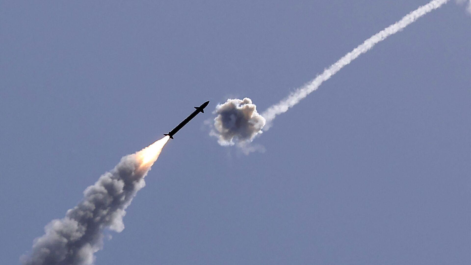 Izrael przechwycił rakietę wystrzeloną ze Strefy Gazy - Sputnik Polska, 1920, 26.09.2021