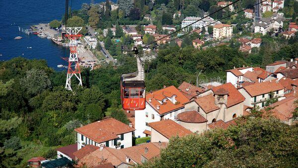 Kolejka linowa Stresa-Alpino-Mottarone - Sputnik Polska