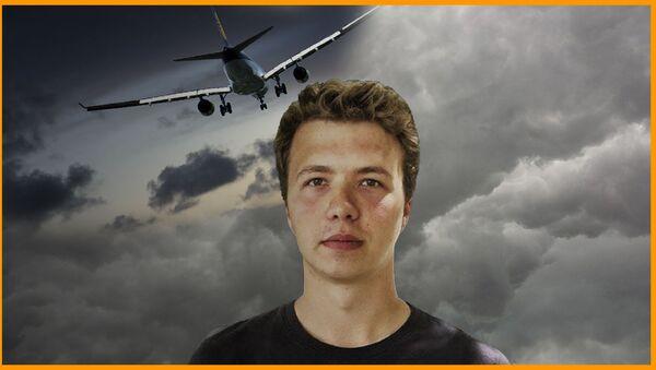 Aresztowanie Protasevicha: co się stało z samolotem Ryanair? - Sputnik Polska