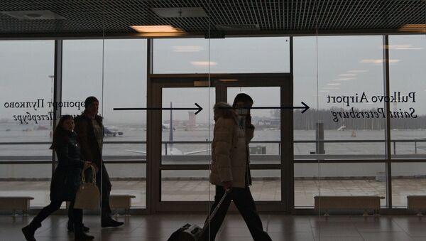 Lotnisko Pułkowo, Petersburg - Sputnik Polska