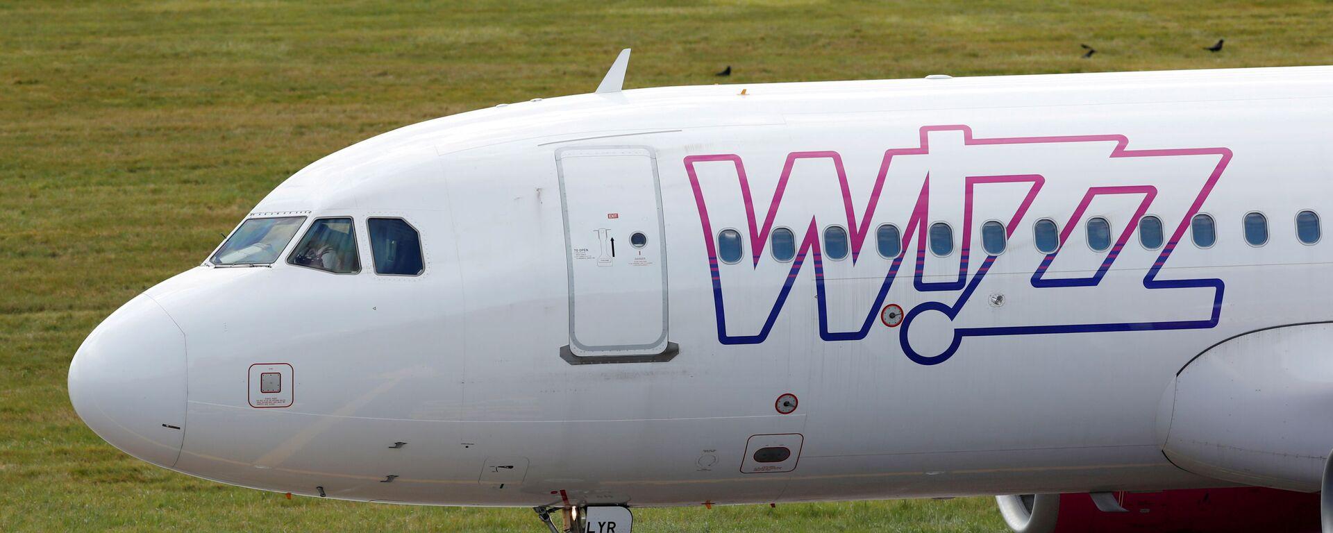 Samolot linii lotniczej Wizz Air - Sputnik Polska, 1920, 02.08.2021
