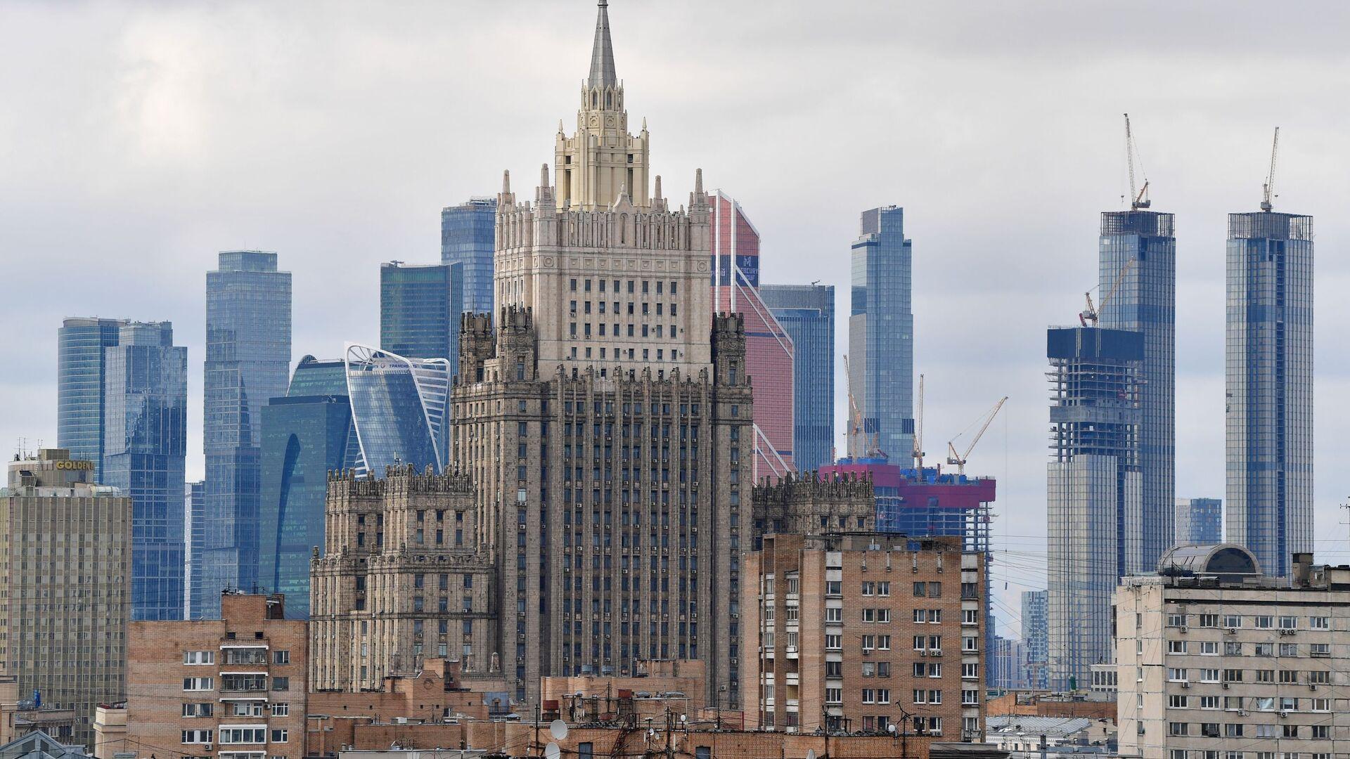 Gmach MSZ Rosji w Moskwie. - Sputnik Polska, 1920, 27.08.2021