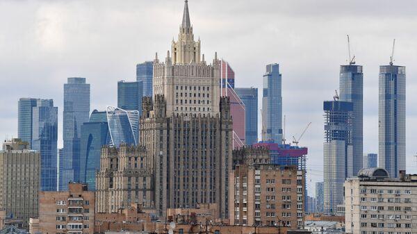 Gmach MSZ Rosji w Moskwie. - Sputnik Polska