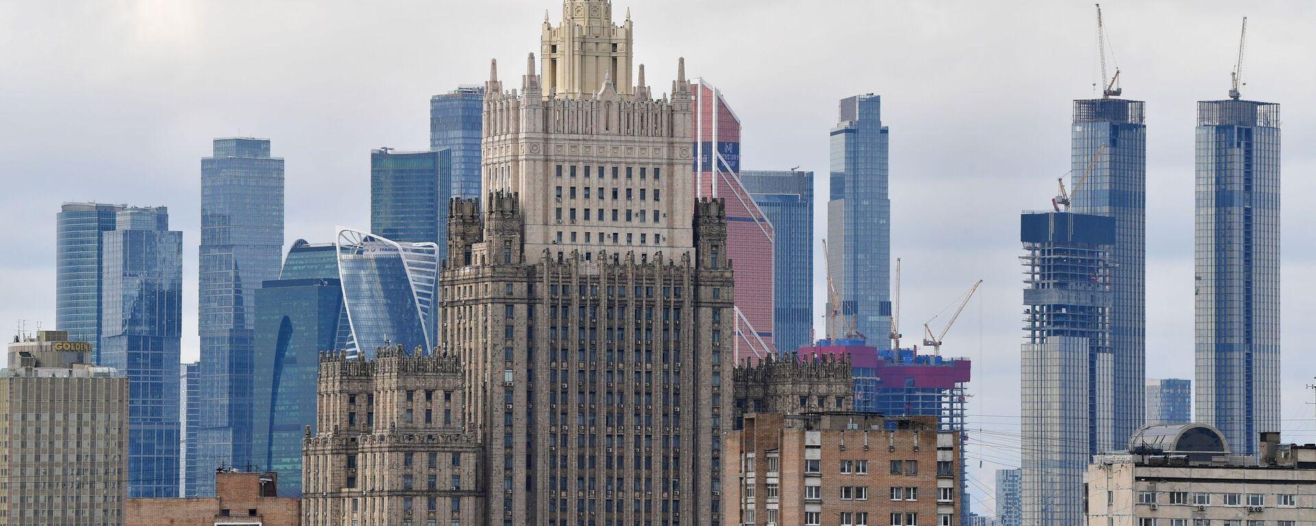 Gmach MSZ Rosji w Moskwie. - Sputnik Polska, 1920, 10.09.2021