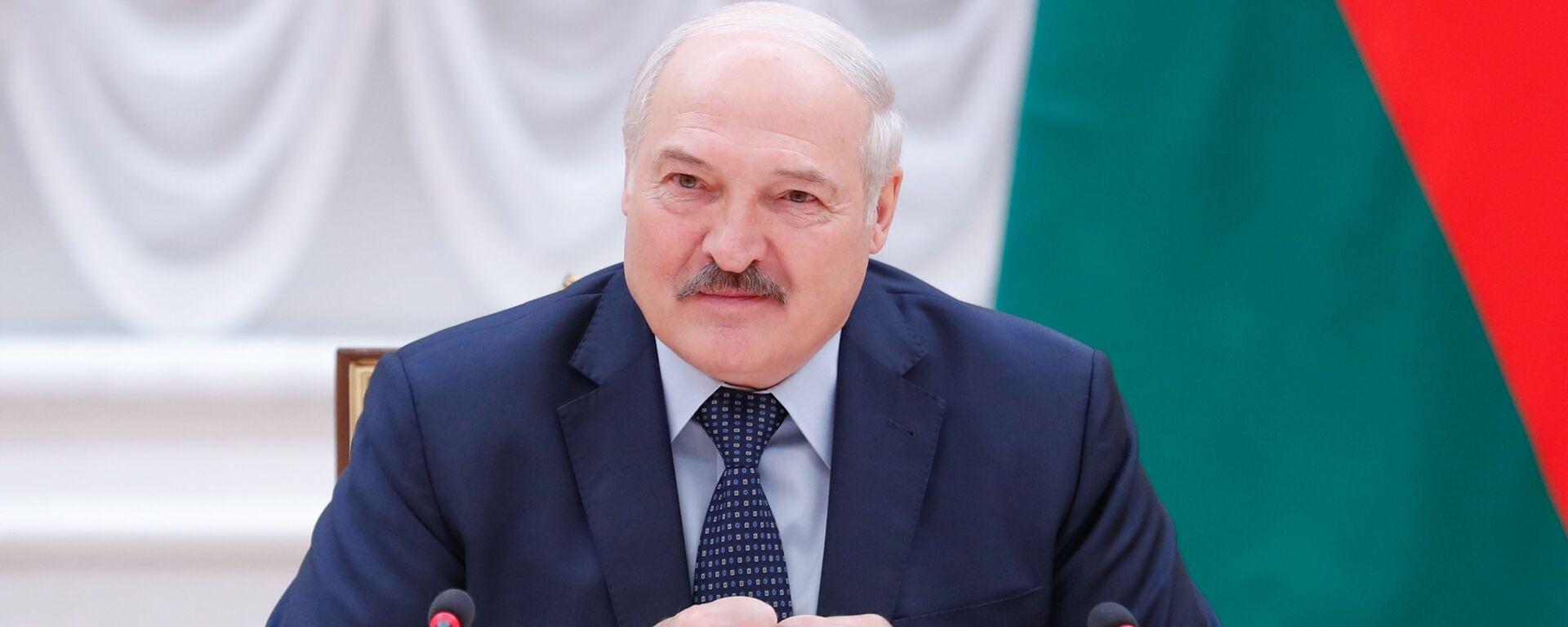 Prezydent Białorusi Aleksandr Łukaszenka. - Sputnik Polska, 1920, 17.09.2021