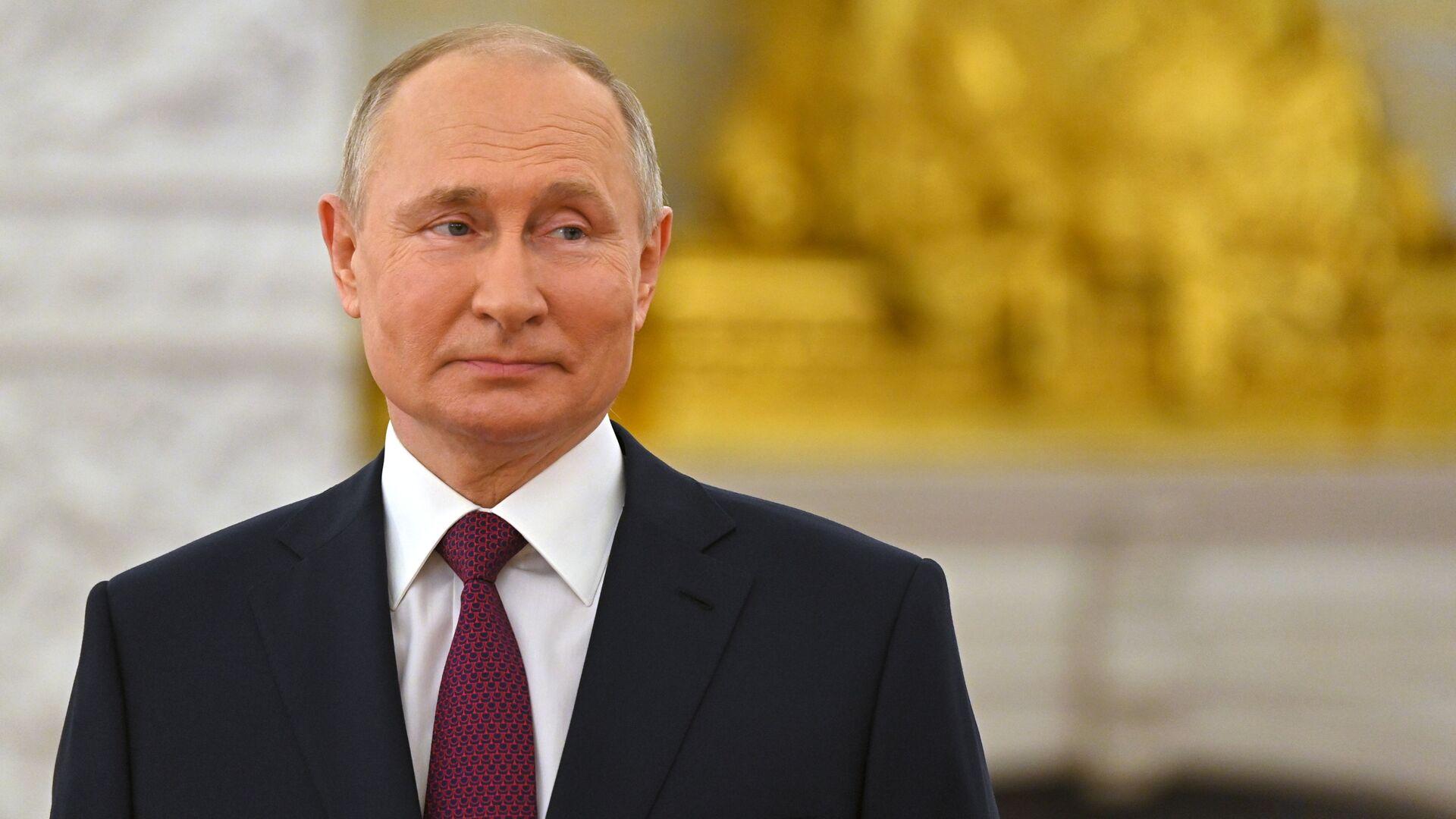 Prezydent Rosji Władimir Putin. - Sputnik Polska, 1920, 14.10.2021