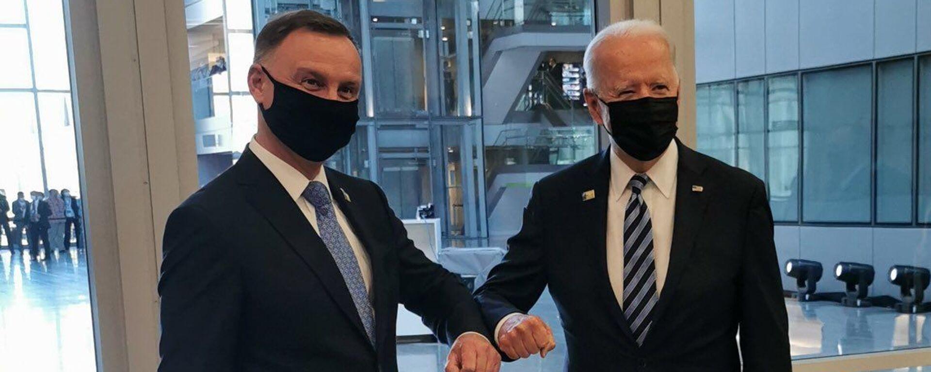 Andrzej Duda i Joe Biden - Sputnik Polska, 1920, 31.07.2021