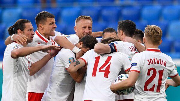 Reprezentacja Polski na Euro 2020 w Petersburdu - Sputnik Polska