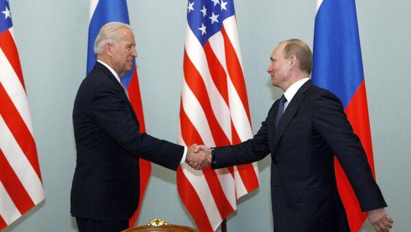 Spotkanie Władimira Putina z Josephem Bidenem. Zdjęcie archiwalne - Sputnik Polska