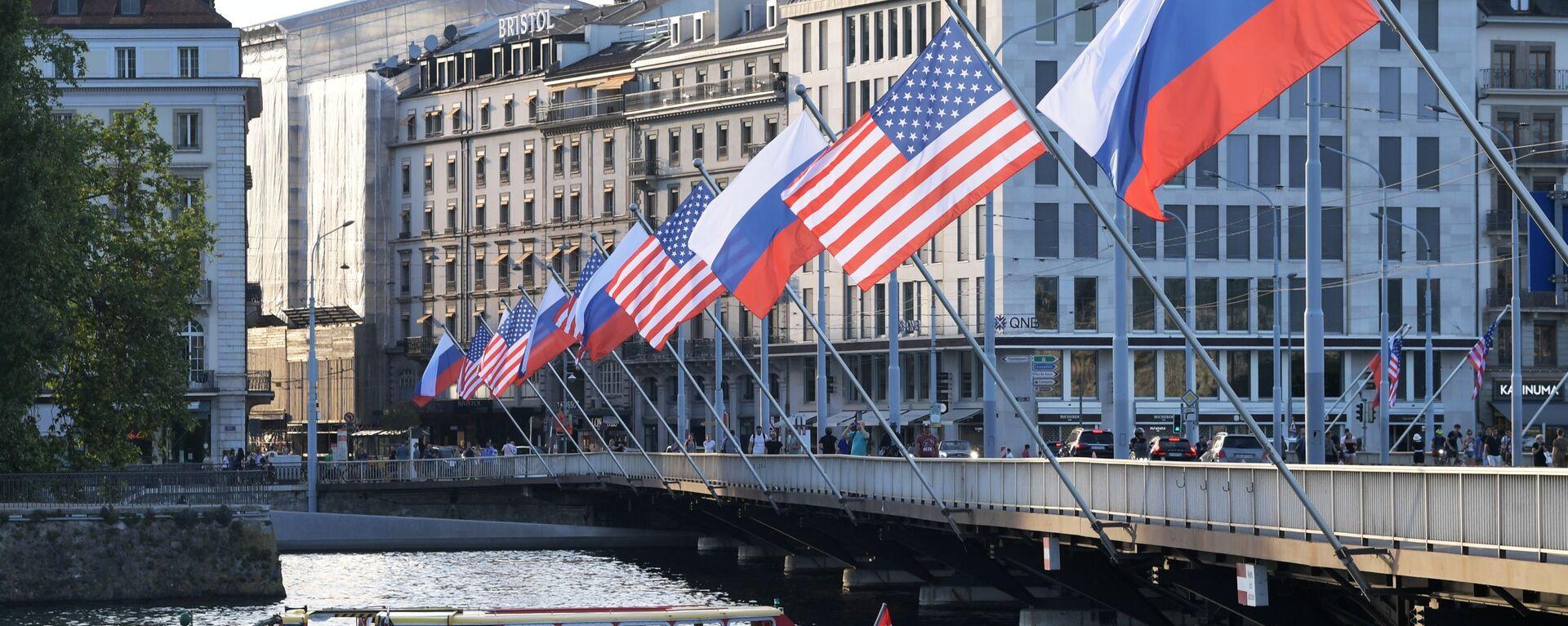 Szczyt Rosji i USA w Genewie 16 czerwca - Sputnik Polska, 1920, 08.10.2021