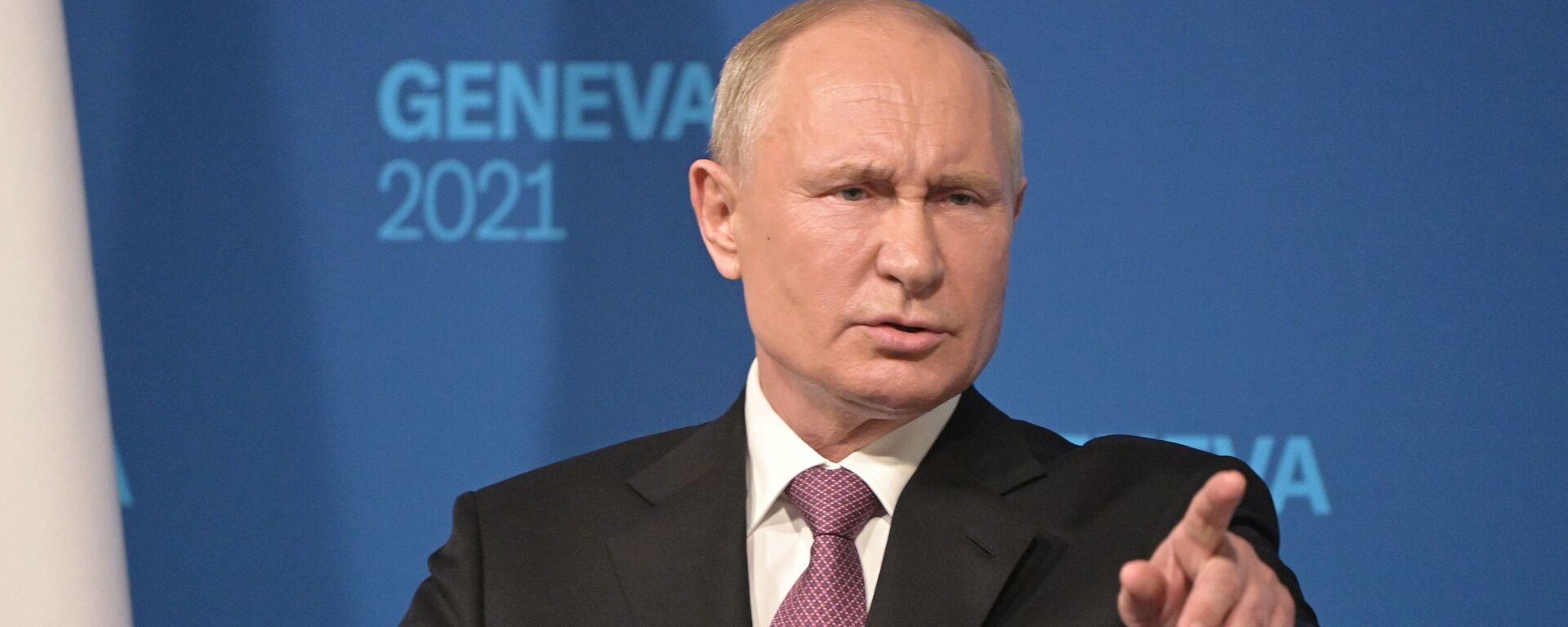 Władimir Putin - Sputnik Polska, 1920, 12.07.2021