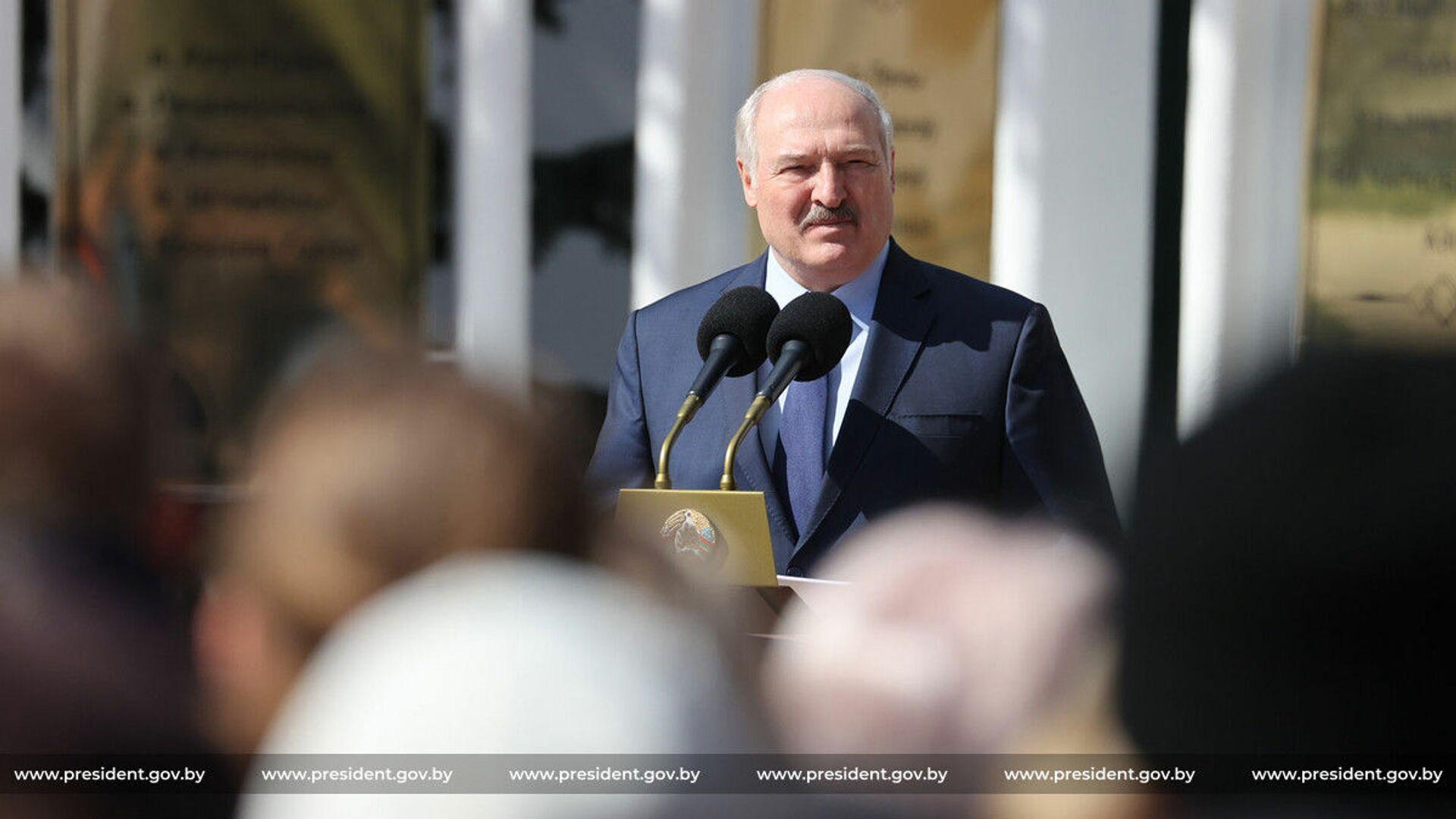 Prezydent Białorusi Aleksandr Łukaszenka. - Sputnik Polska, 1920, 13.08.2021