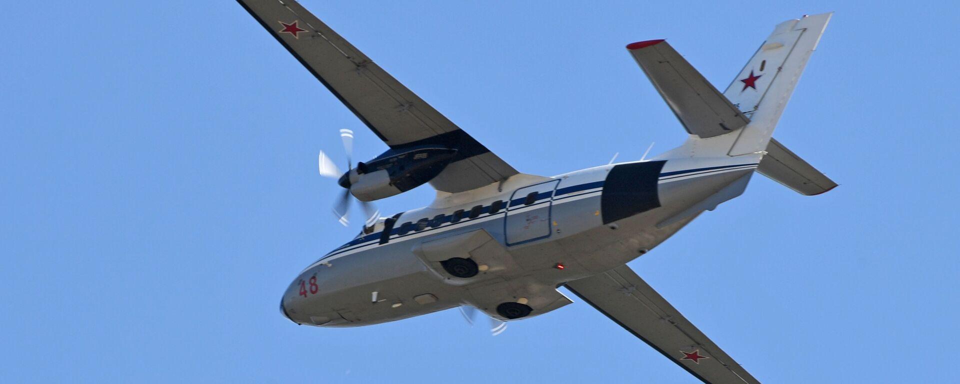 Samolot pasażerski L-410 - Sputnik Polska, 1920, 12.09.2021