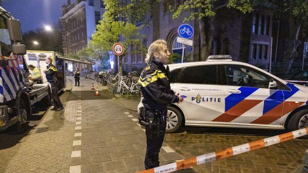 Holenderska policja - Sputnik Polska