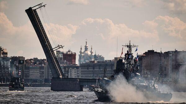 Литейный мост в Санкт-Петербурге - Sputnik Polska