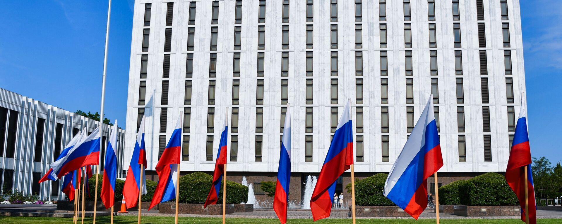 Ambasada Rosji w Waszyngtonie - Sputnik Polska, 1920, 06.10.2021