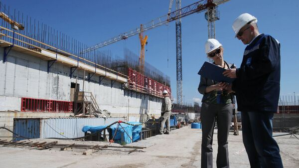 Строительство Балтийской атомной станции - Sputnik Polska