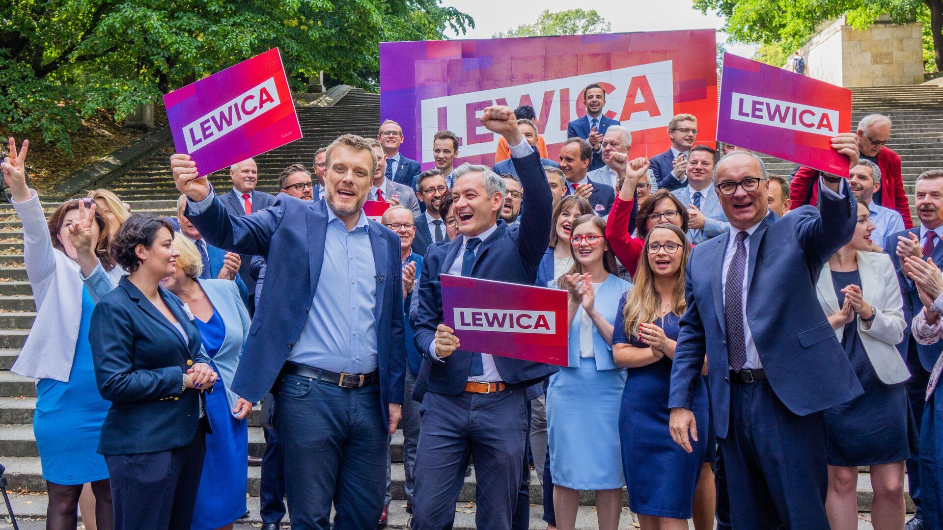 Lewica - Sputnik Polska, 1920, 07.10.2021