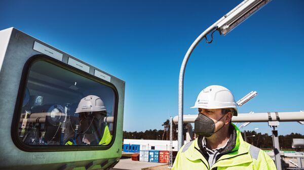 Строительство газопровода Северный поток-2 в Германии - Sputnik Polska