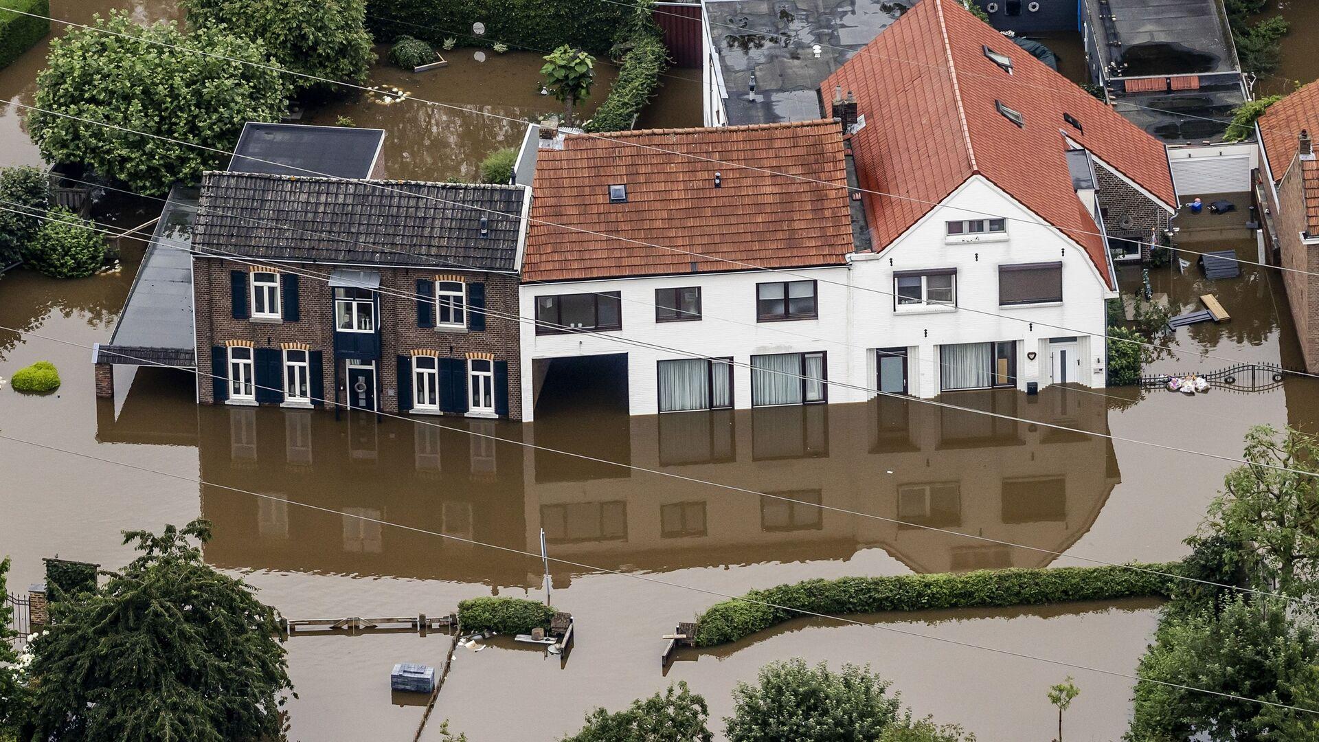 Powódź w Valkenburgu, Niderlandy - Sputnik Polska, 1920, 21.07.2021