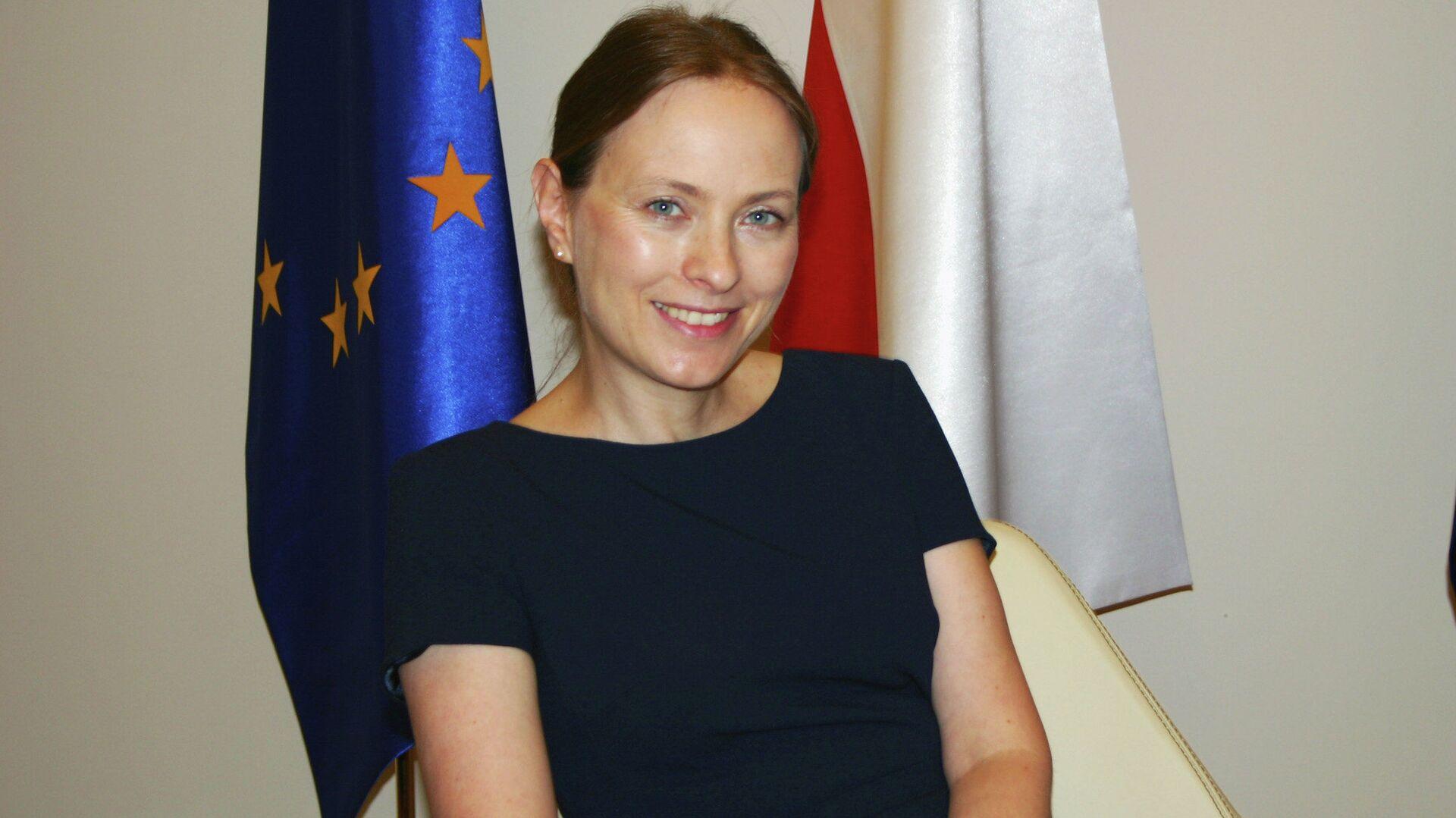 Ambasador Polski w Rosji (2014-2016) Katarzyna Pełczyńska-Nałęcz  - Sputnik Polska, 1920, 10.09.2021