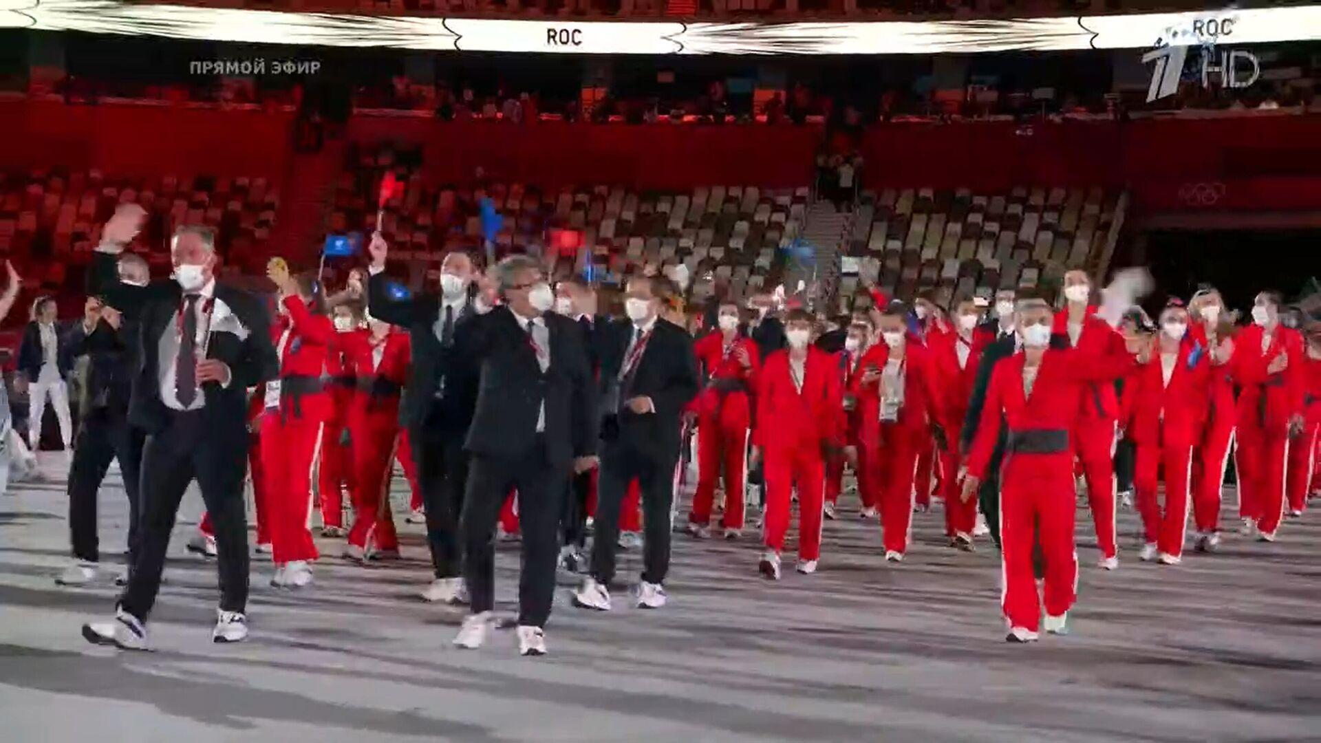 Rosyjska reprezentacja na Igrzyskach Olimpijskich w Tokio - Sputnik Polska, 1920, 10.08.2021