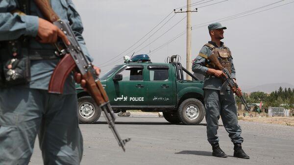Контрольно-пропускной пункт в Кабуле - Sputnik Polska