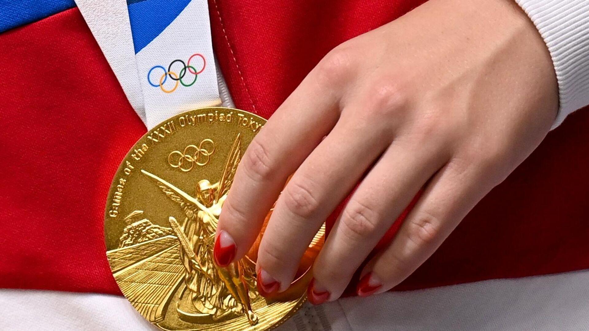 Złoty medal olimpijski, 2021 - Sputnik Polska, 1920, 25.07.2021