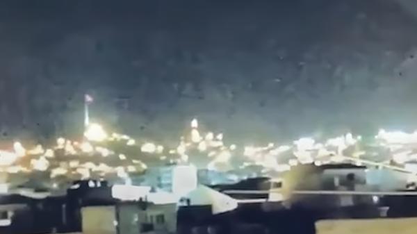Вспышка в небе над Измиром, Турция - Sputnik Polska