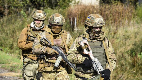 Военнослужащие армии Украины - Sputnik Polska