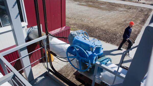 На станции комплексной подготовки газа Берегового газоконденсатного месторождения - Sputnik Polska