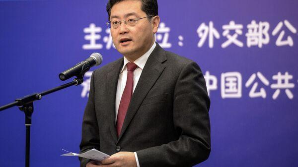 Китайский дипломат Цинь Ган - Sputnik Polska