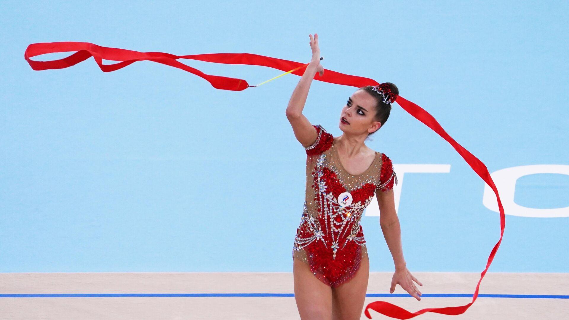 Rosjanka Dina Awierina na Igrzyskach Olimpijskich w Tokio - Sputnik Polska, 1920, 07.08.2021