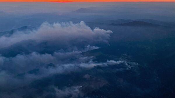 Природные пожары в регионе Даламан в провинции Мугла - Sputnik Polska