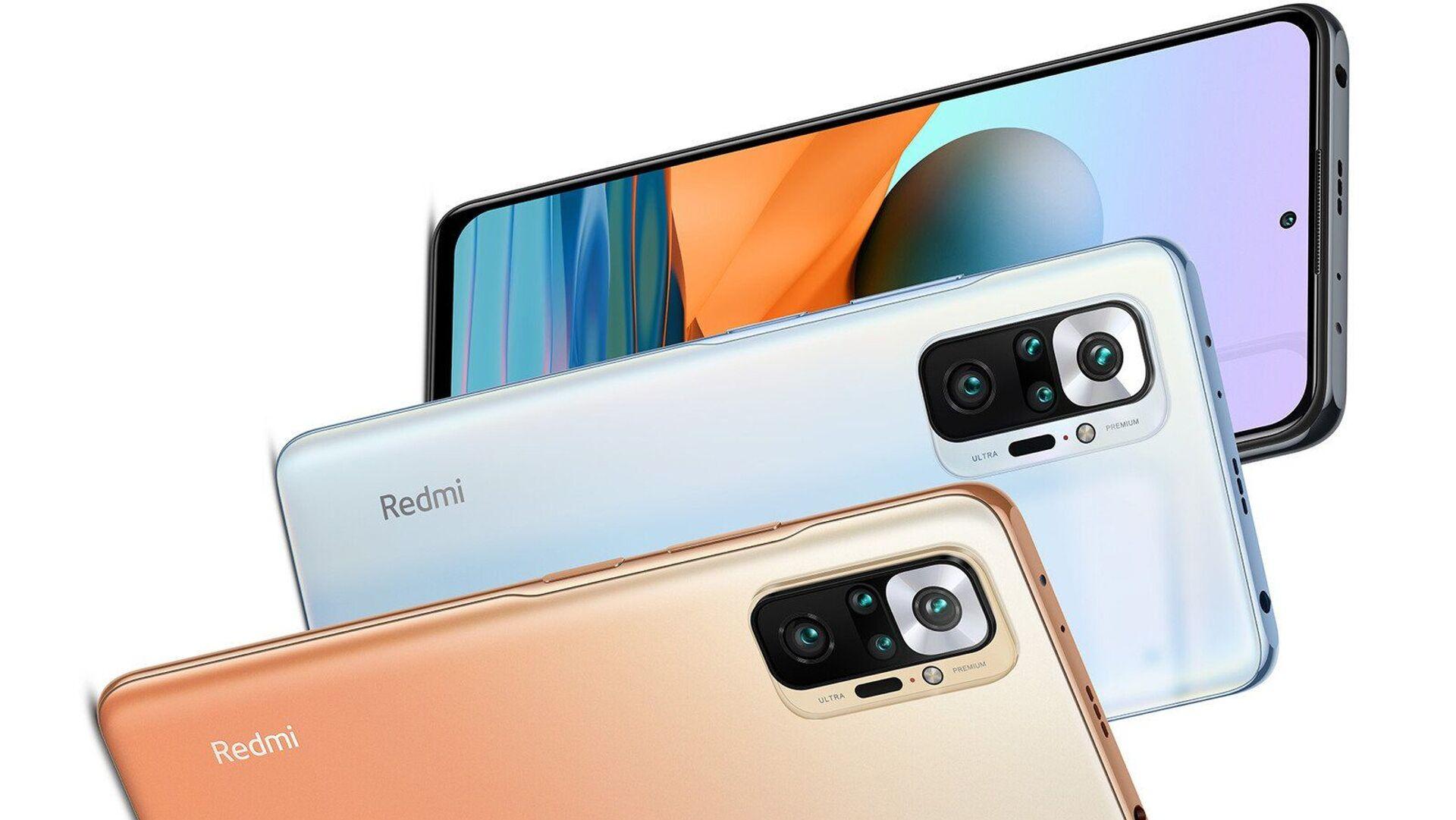 Smartfon Xiaomi Redmi Note 10 Pro - Sputnik Polska, 1920, 09.08.2021