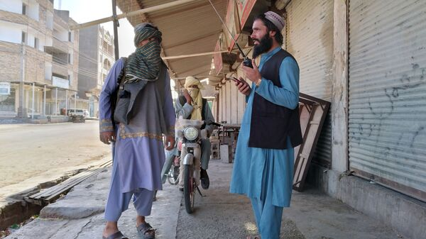Бойцы Талибана патрулируют город Фарах, Афганистан - Sputnik Polska