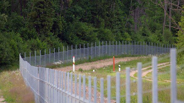 Литовско-белорусская граница - Sputnik Polska