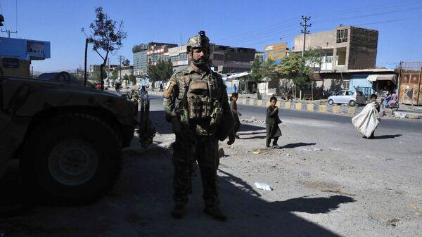 Сотрудники афганских сил безопасности Герате - Sputnik Polska