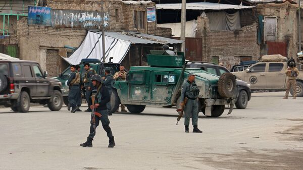 Ситуация в Кабуле, где произошло нападение на храм сикхов, Афганистан - Sputnik Polska