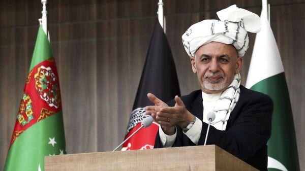 Президент Афганистана Ашраф Гани Ахмадзай. Архивное фото - Sputnik Polska