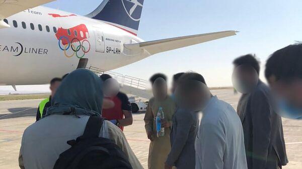 Эвакуация польских граждан и граждан других государств из Афганистана - Sputnik Polska