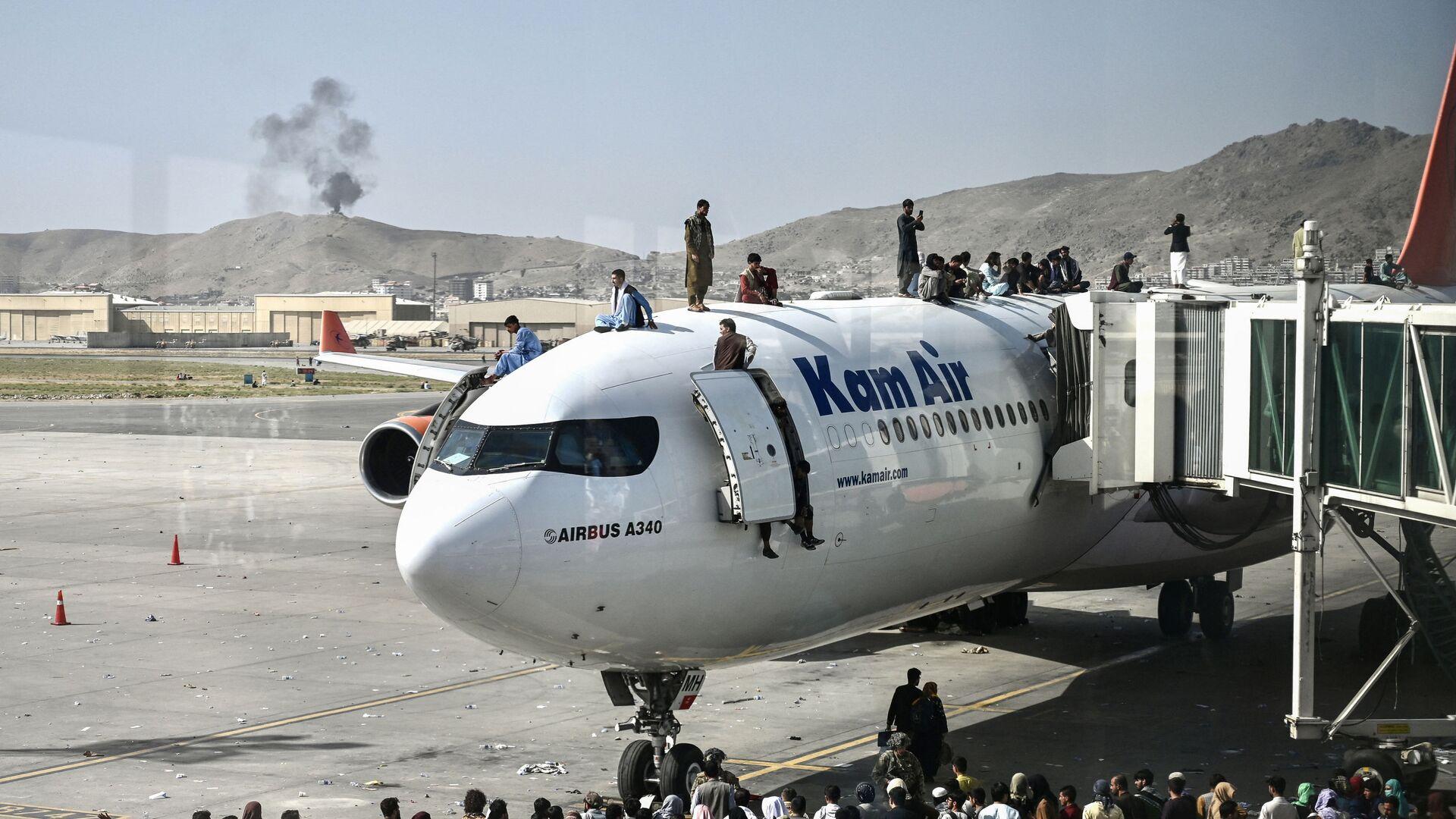 Lotnisko w Kabulu - Sputnik Polska, 1920, 28.08.2021