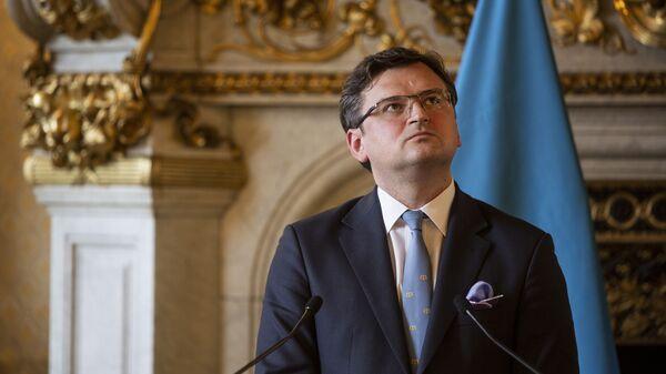 Министр иностранных дел Украины Дмитрий Кулеба - Sputnik Polska