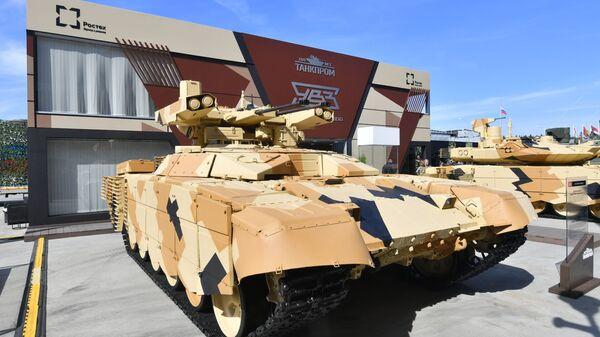 Боевая машина поддержки танков БМПТ-72 Терминатор-2  - Sputnik Polska