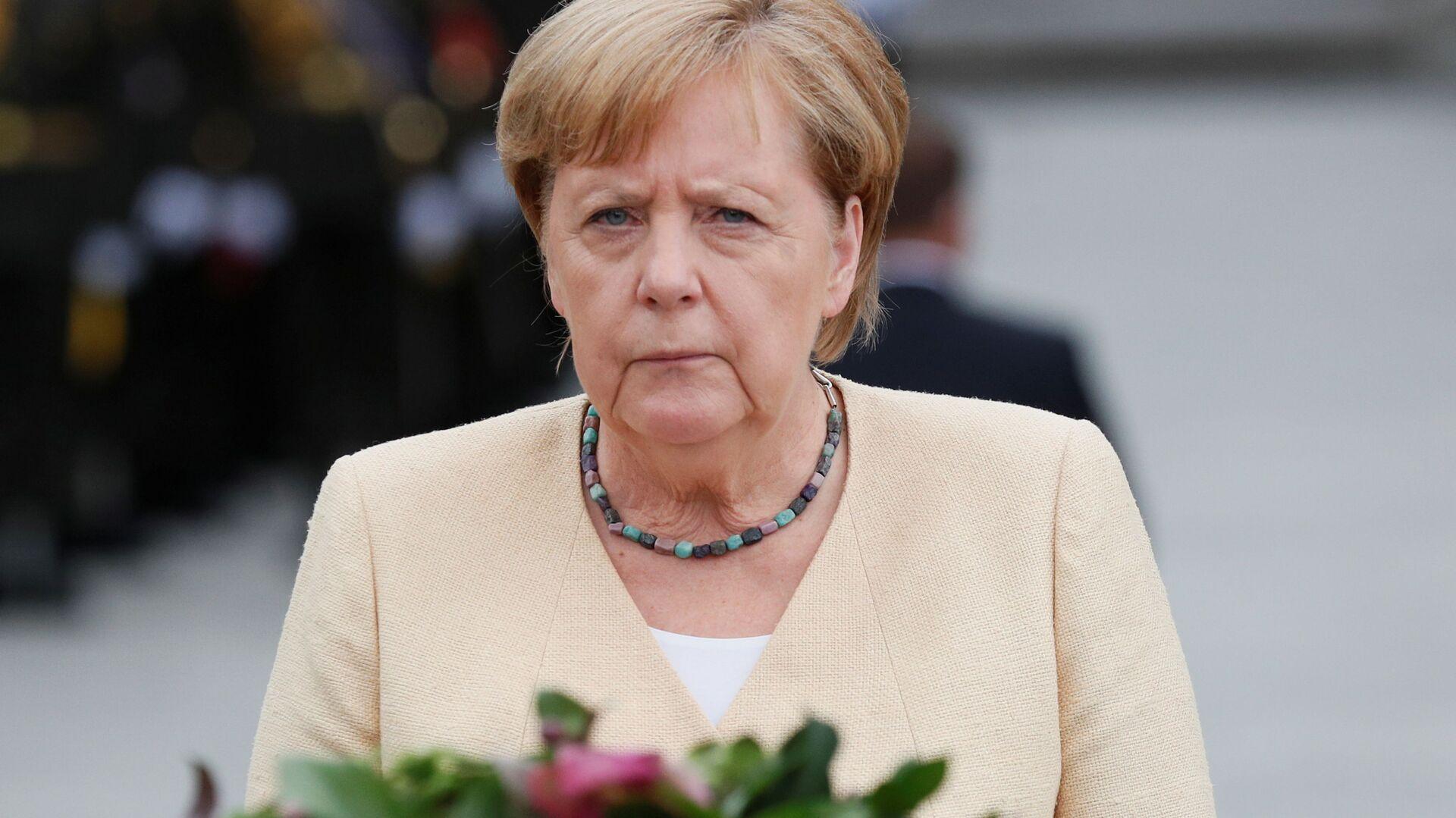 Wizyta Merkel w Kijowie - Sputnik Polska, 1920, 22.08.2021