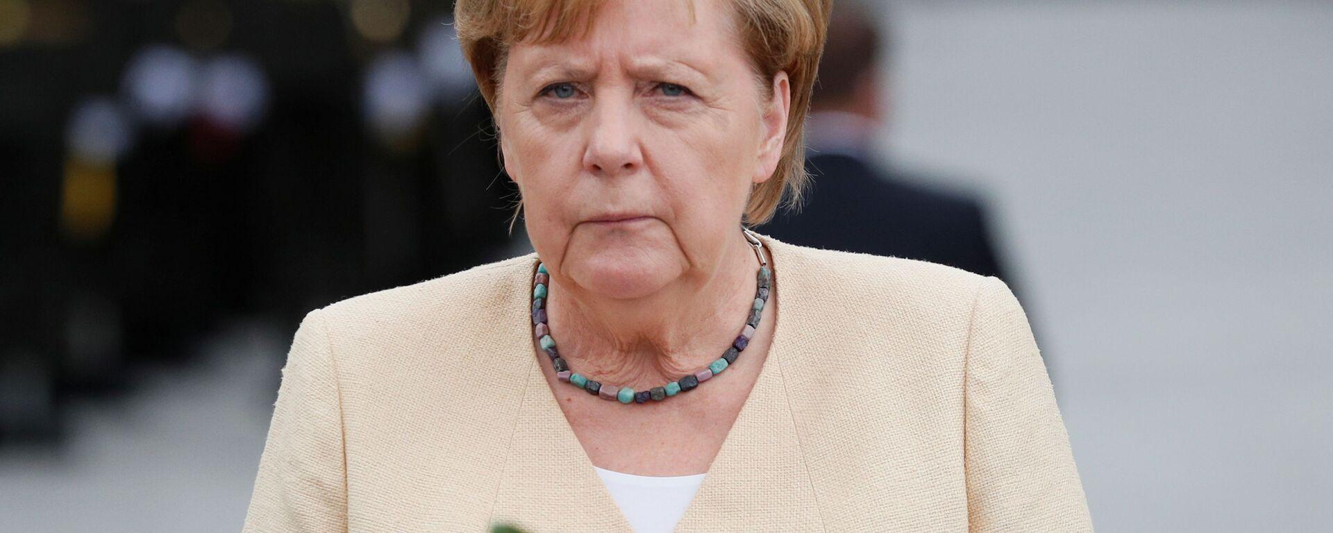 Wizyta Merkel w Kijowie - Sputnik Polska, 1920, 03.09.2021