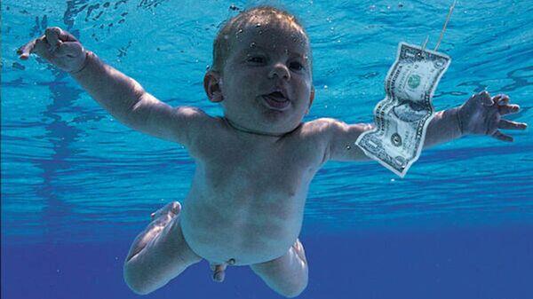 Обложка альбома Nevermind группы Nirvana - Sputnik Polska